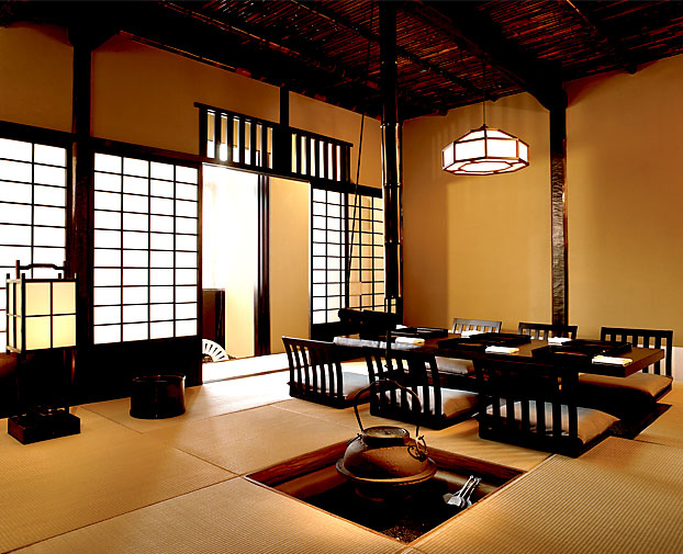 6 the sightseeing tea house next to edo bay encountering for Classic japanese house
